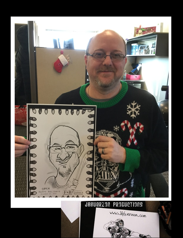 Caricatures in Folsom, CA